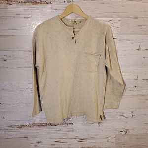 Eddie Bauer silk, warm sweater